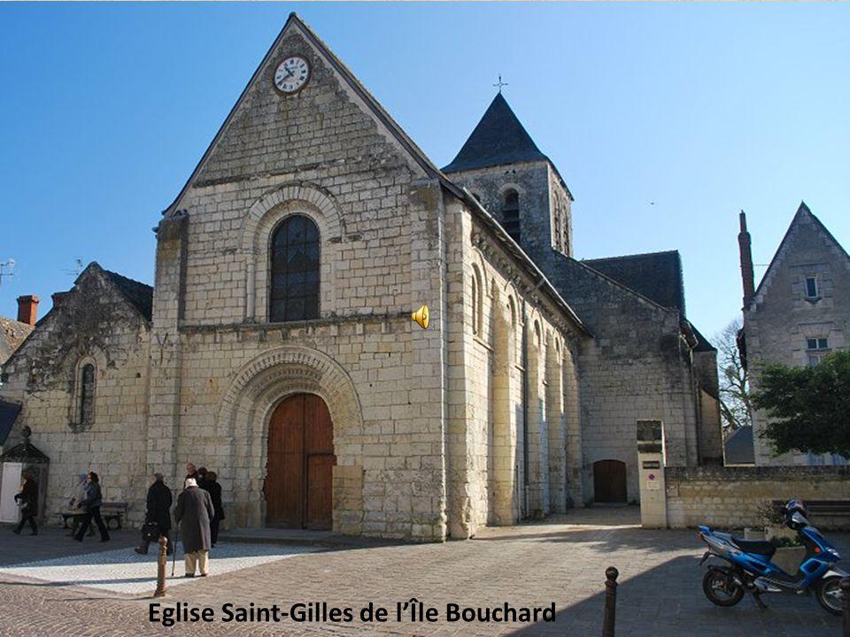 Eglise Saint-Gilles de lÎle Bouchard