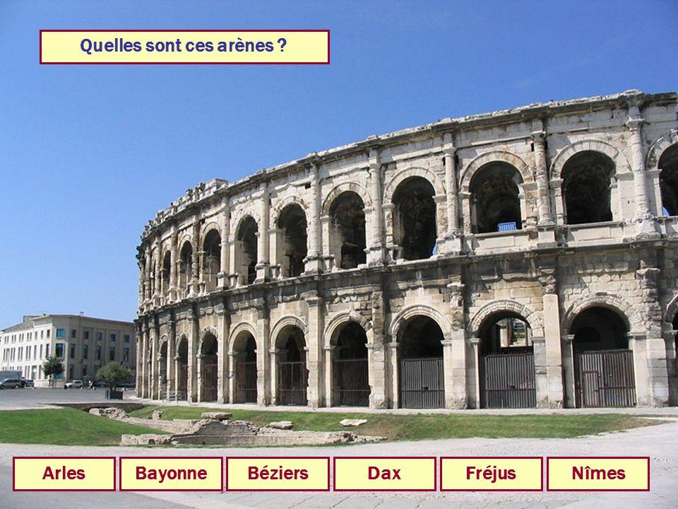 Quelle ville était alimentée en eau par le Pont du Gard ? NîmesArlesAgdeMontpellierMarseille