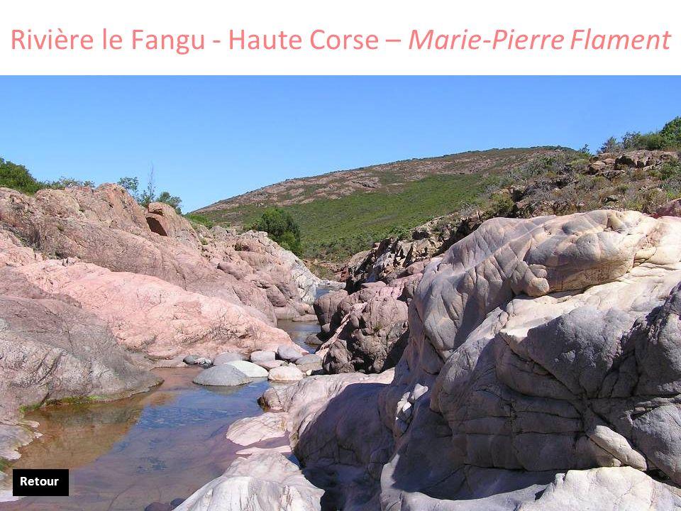 Rivière le Fangu - Haute Corse – Marie-Pierre Flament Retour