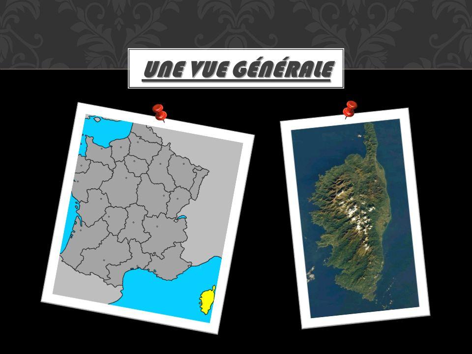 Elle est portage en deux départements: Corsica suprana Corsica suprana Corsica suttana LORGANISATION