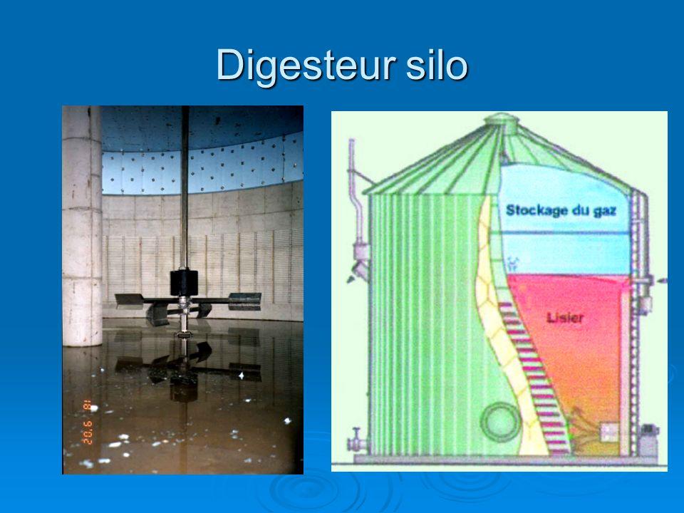 Digesteur silo