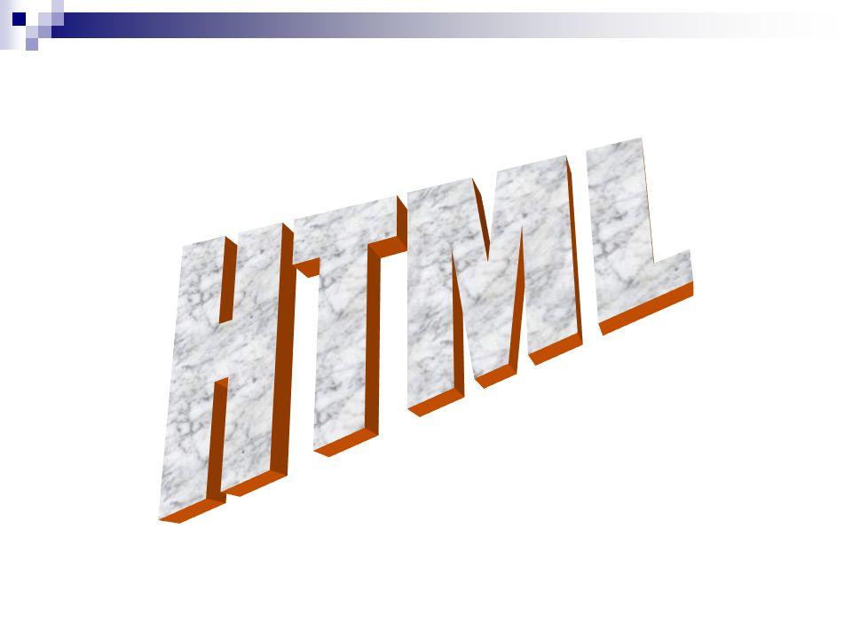 HTML Un fichier HTML est un fichier text contenant desmarkup tags ou tagues de marquage.