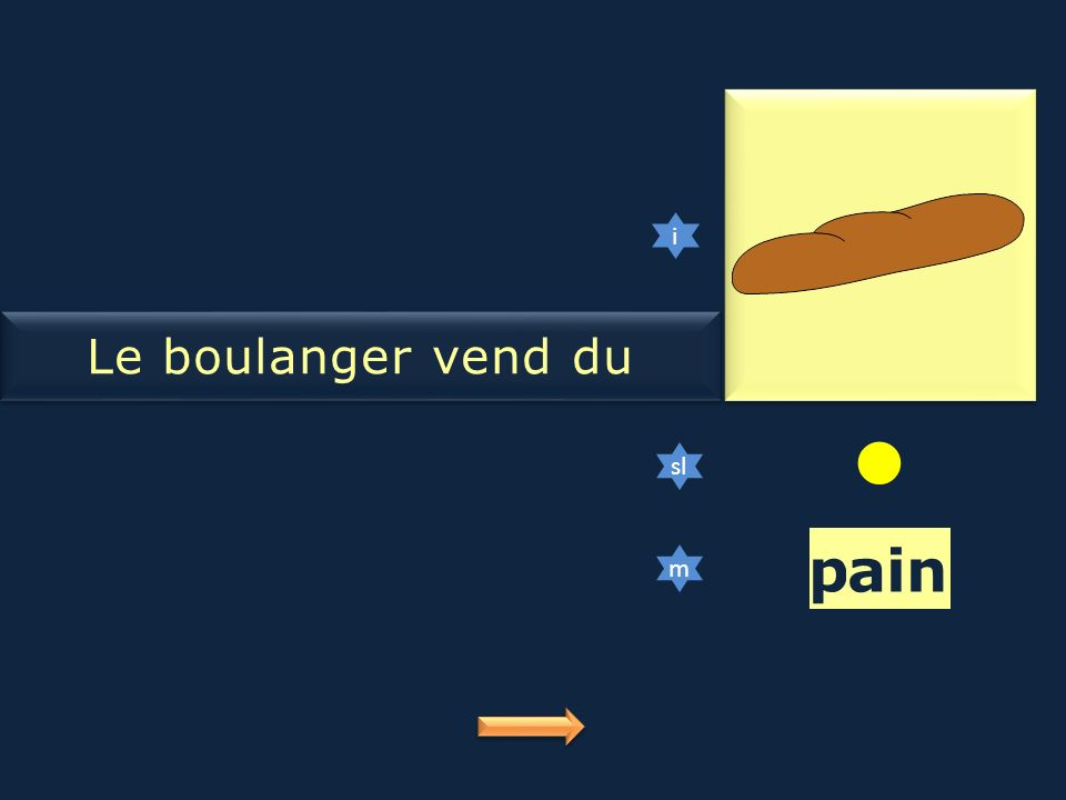 pain Le boulanger vend du pain i sl m