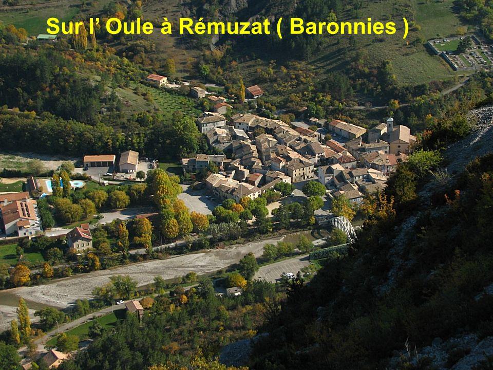 Sur lAlauzon (Baronnies )