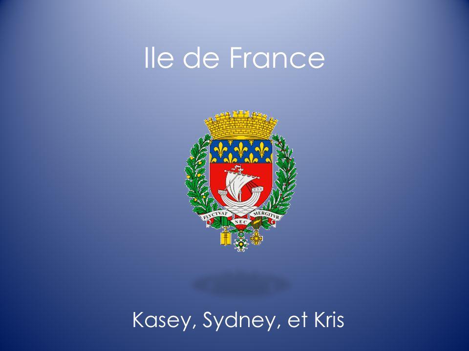 Ile de France Ile de France- Elle est trouvée au nord.