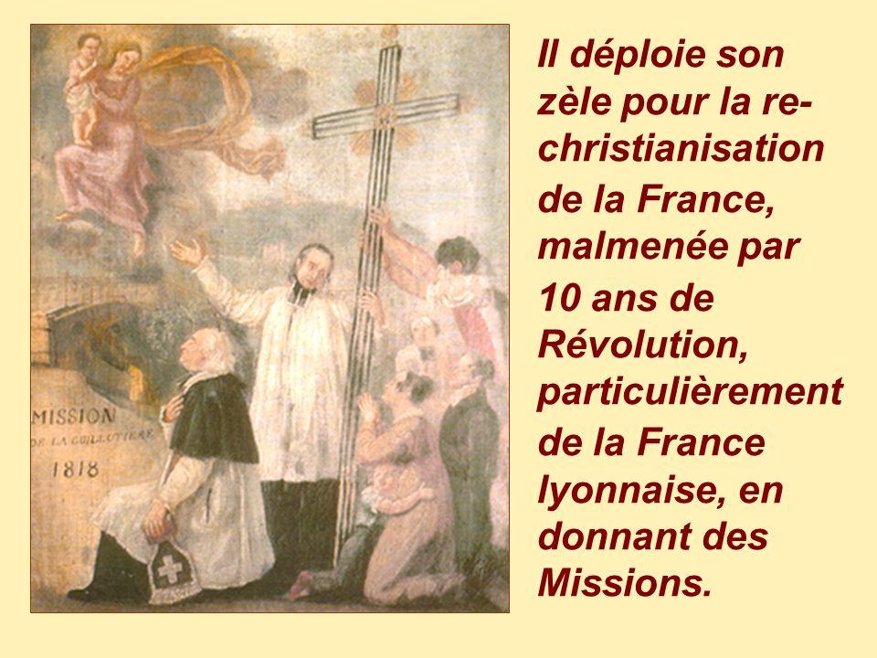 Le jeune prêtre, très tôt nommé vicaire à la Croix-Rousse de Lyon, sest entendu murmurer: À nous deux, Lyon !