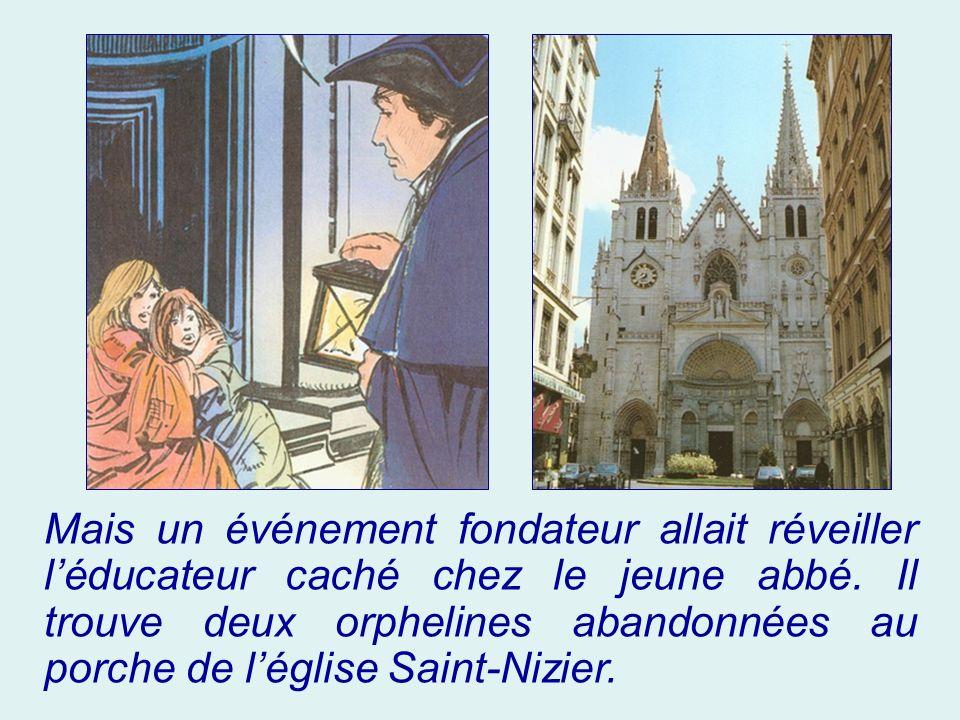 Il déploie son zèle pour la re- christianisation de la France, malmenée par 10 ans de Révolution, particulièrement de la France lyonnaise, en donnant