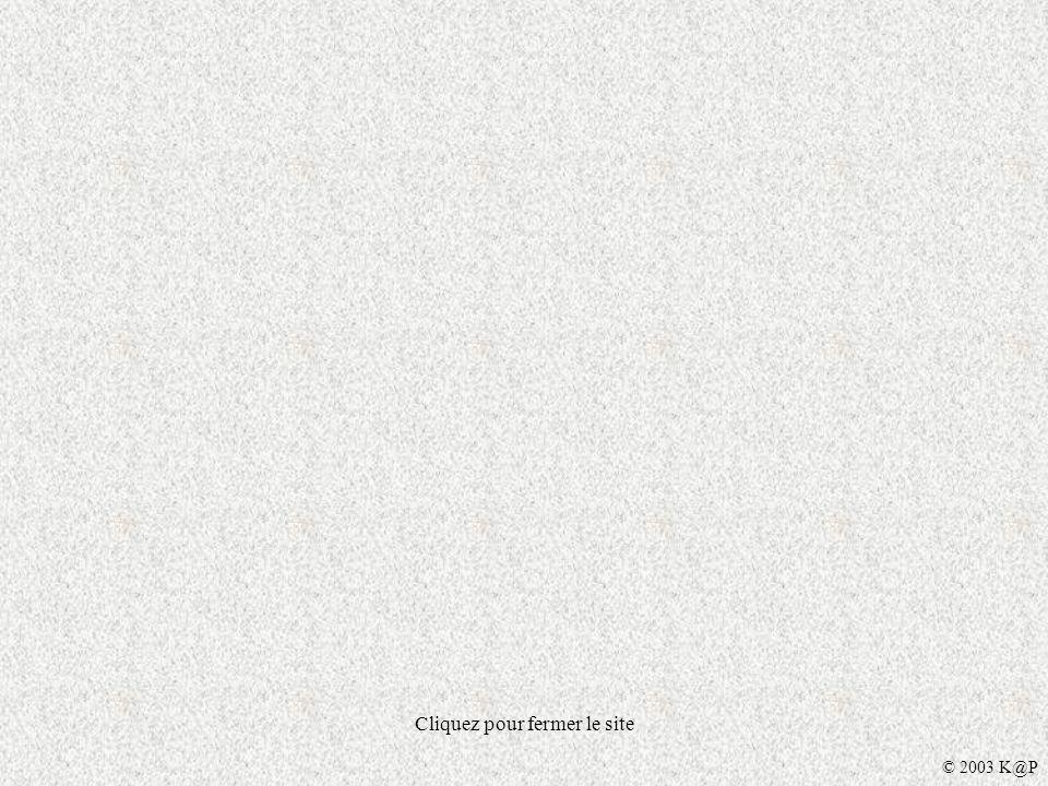 Cliquez pour fermer le site © 2003 K@P