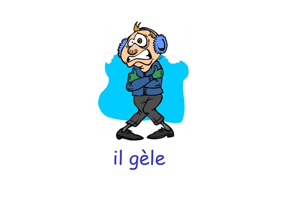 il gèle