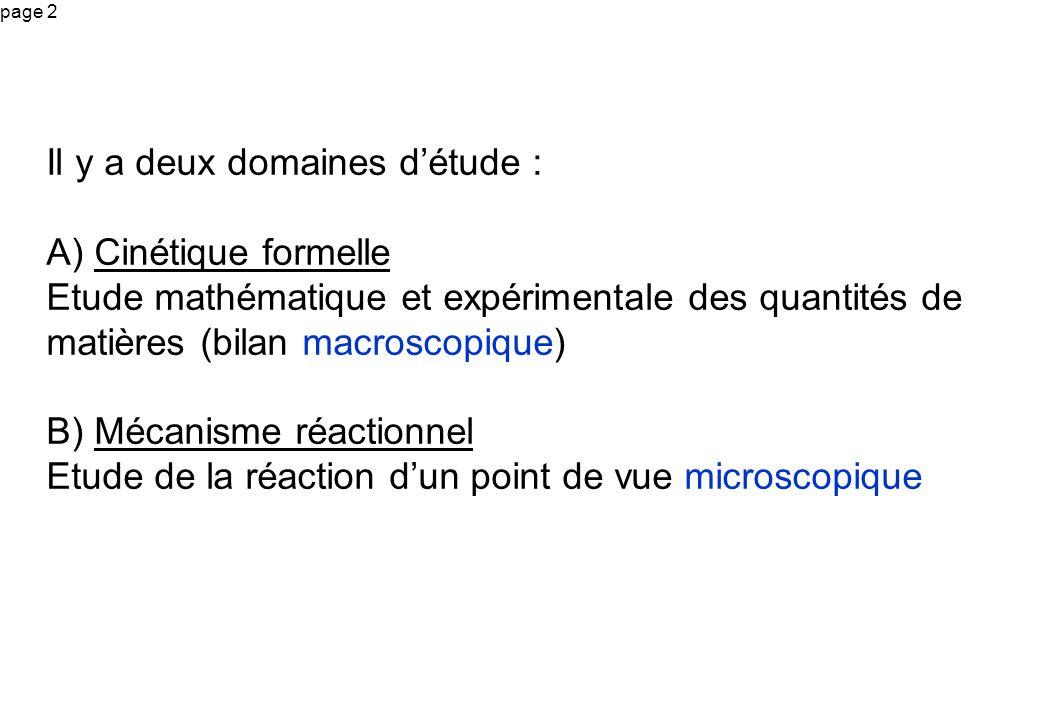 page 33 On considère la réaction chimique (R) suivante : A + 3 B = C + D Cette écriture est le bilan de matière de la réaction : une mole de A réagit avec 3 moles de B pour donner ….