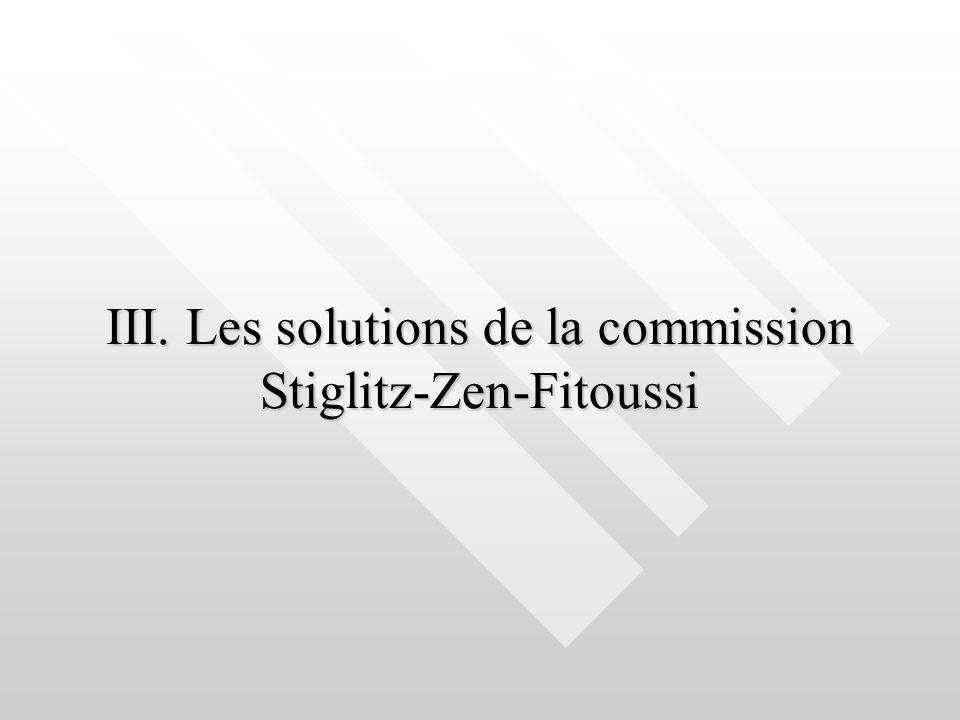 III. Les solutions de la commission Stiglitz-Zen-Fitoussi