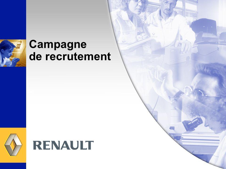 Campagne de recrutement