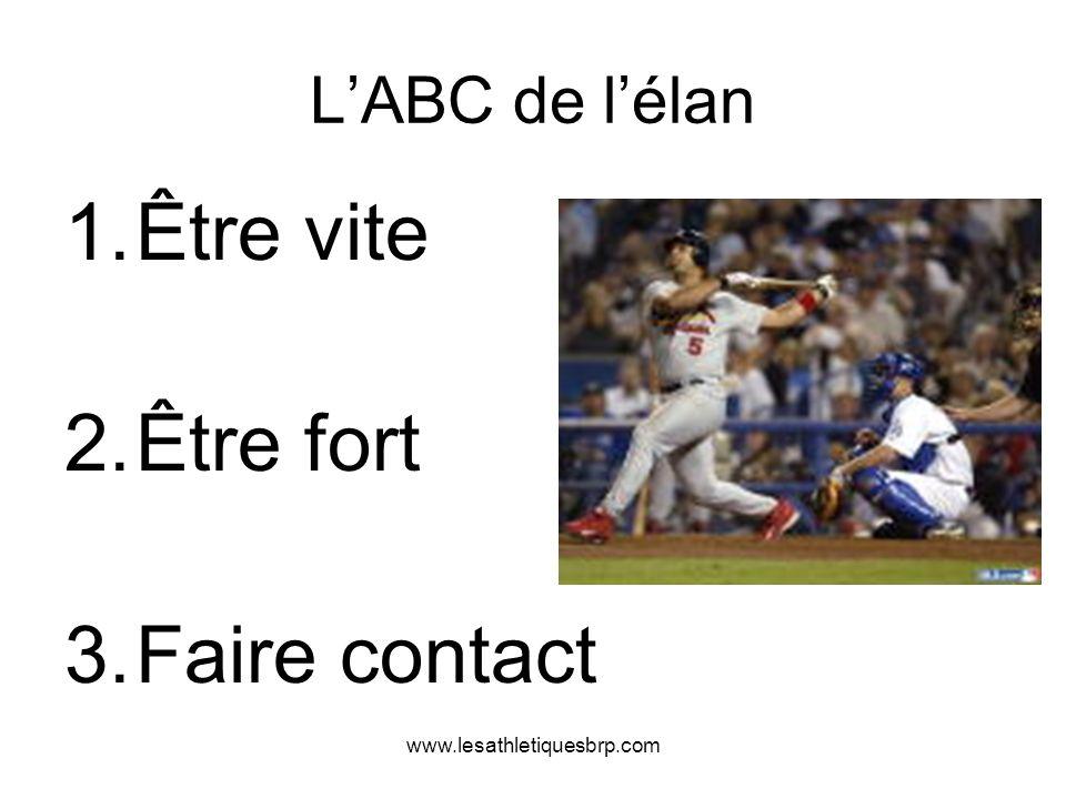 www.lesathletiquesbrp.com LABC de lélan 1.Être vite 2.Être fort 3.Faire contact