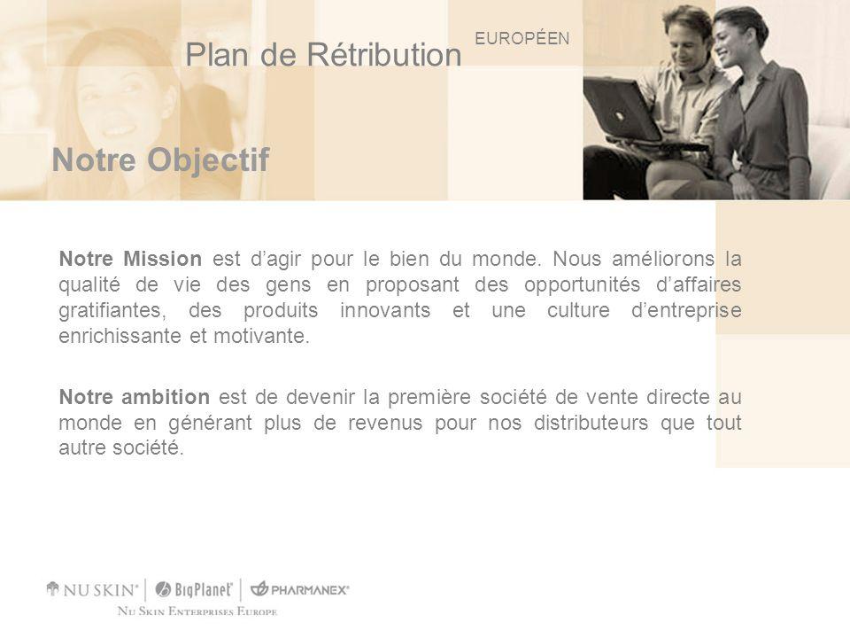 Notre Plan de Rétribution Notre plan de rétribution est reconnu comme étant lun des plus avantageux de lindustrie.