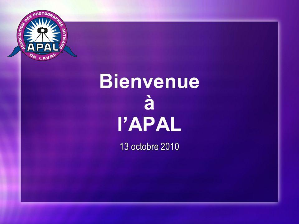 Bienvenue à lAPAL 13 octobre 2010