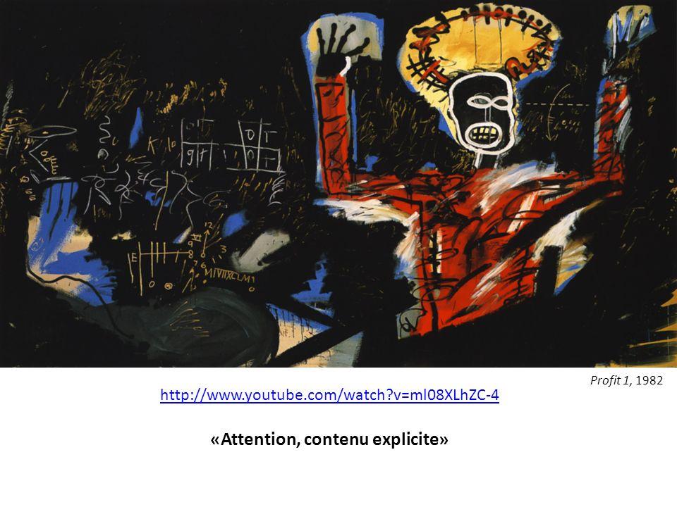 http://www.youtube.com/watch?v=ml08XLhZC-4 «Attention, contenu explicite» Profit 1, 1982