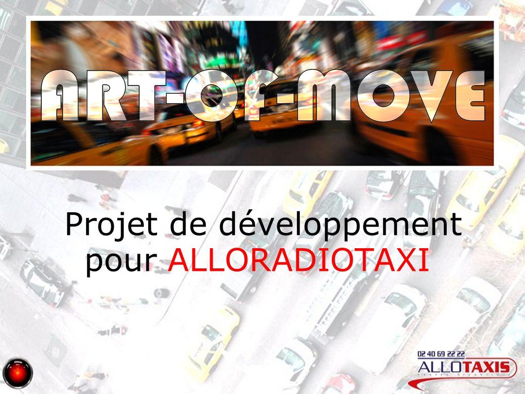 Projet de développement pour ALLORADIOTAXI