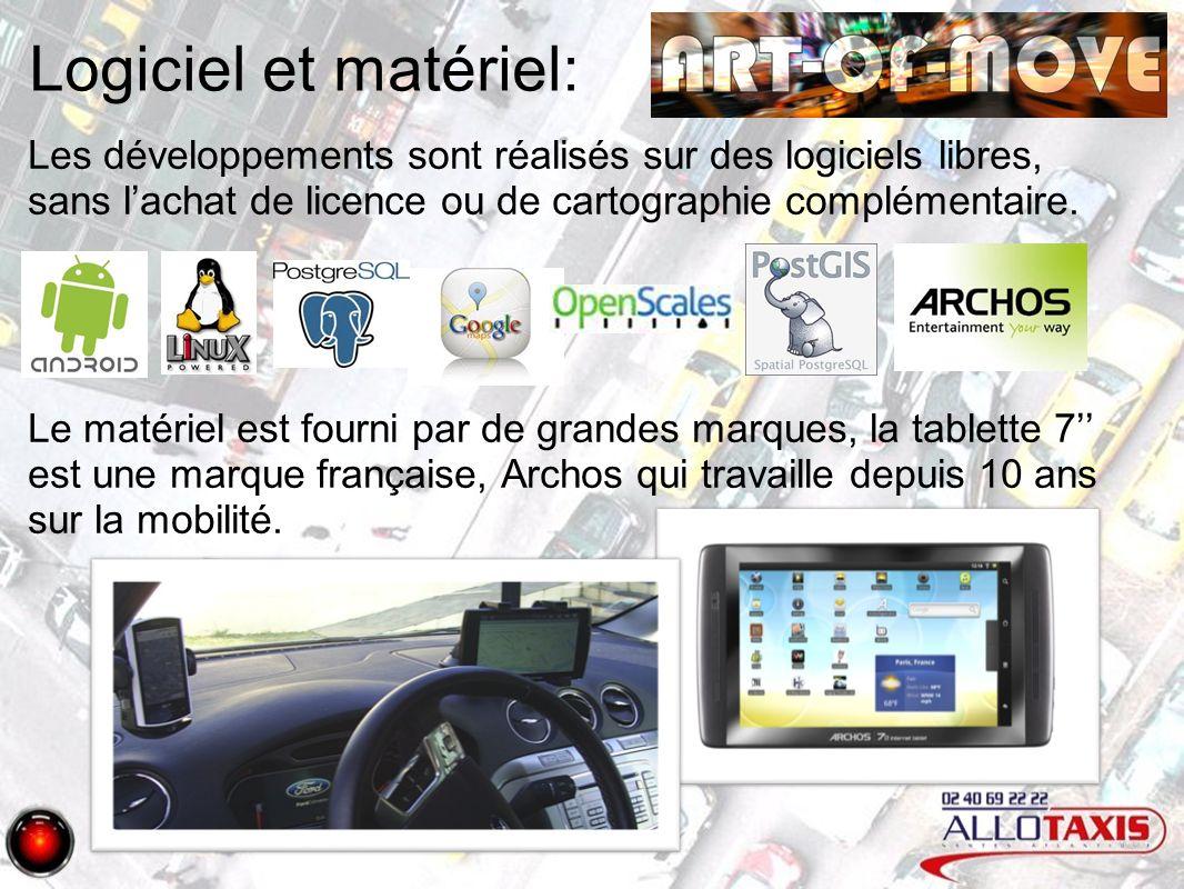 Logiciel et matériel: Les développements sont réalisés sur des logiciels libres, sans lachat de licence ou de cartographie complémentaire.