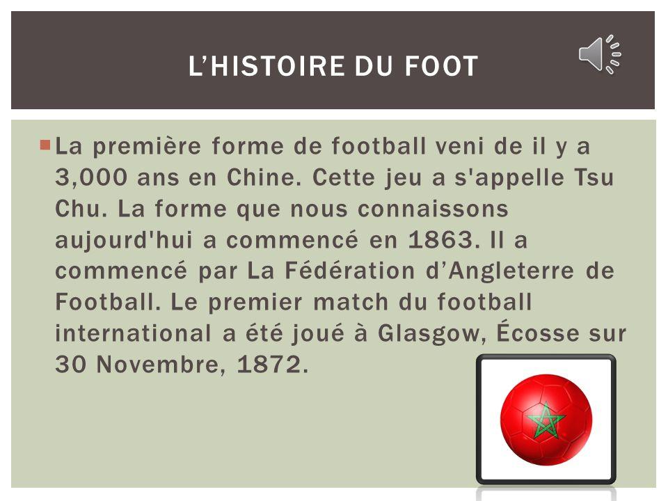 Léquipe national de Maroc commence en 1957.Le équipe (Lions dAtlas) joue dans Stade de Marrakech en Marrakesh. Le mieux joueuse est Ahmed Farras. En 1