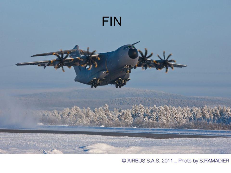Quatrième et dernière nuit FTI et A400M off Record de froid T° nuit -38°C Arrivée à 8h00 Démarrage APU +packs pour réchauffage avion Préparation avion
