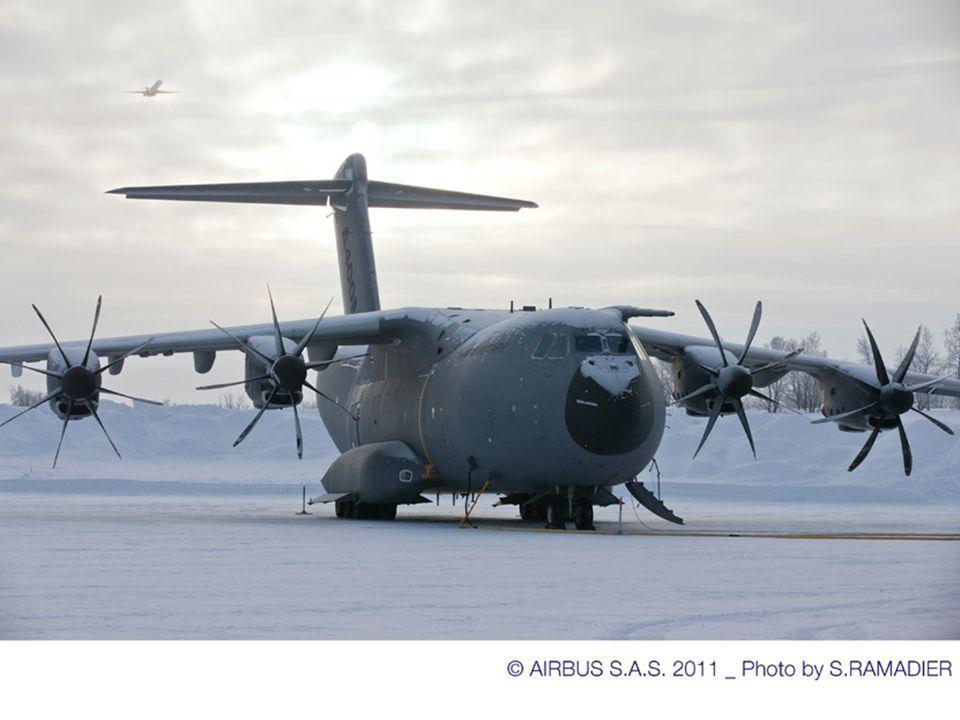 Départ le dimanche 13/02/2011 avec lA340 Arrivée à Kiruna à 14h00 Arrivée A400M à 19h30 Mise en config anti rotation hélices Protection sondes Protect