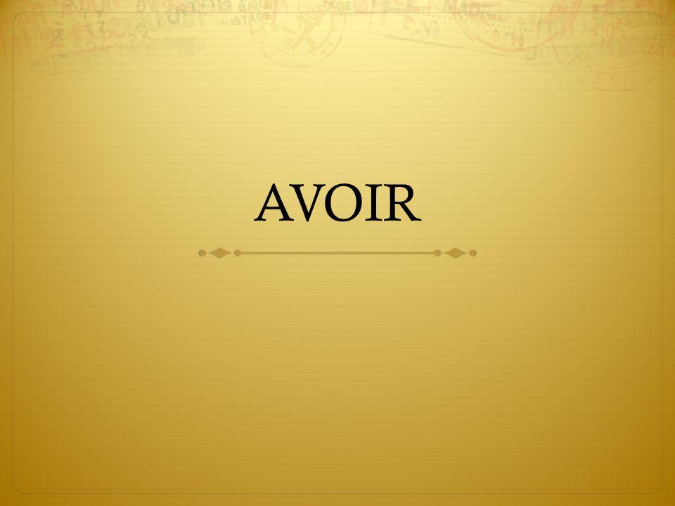 AVOIR