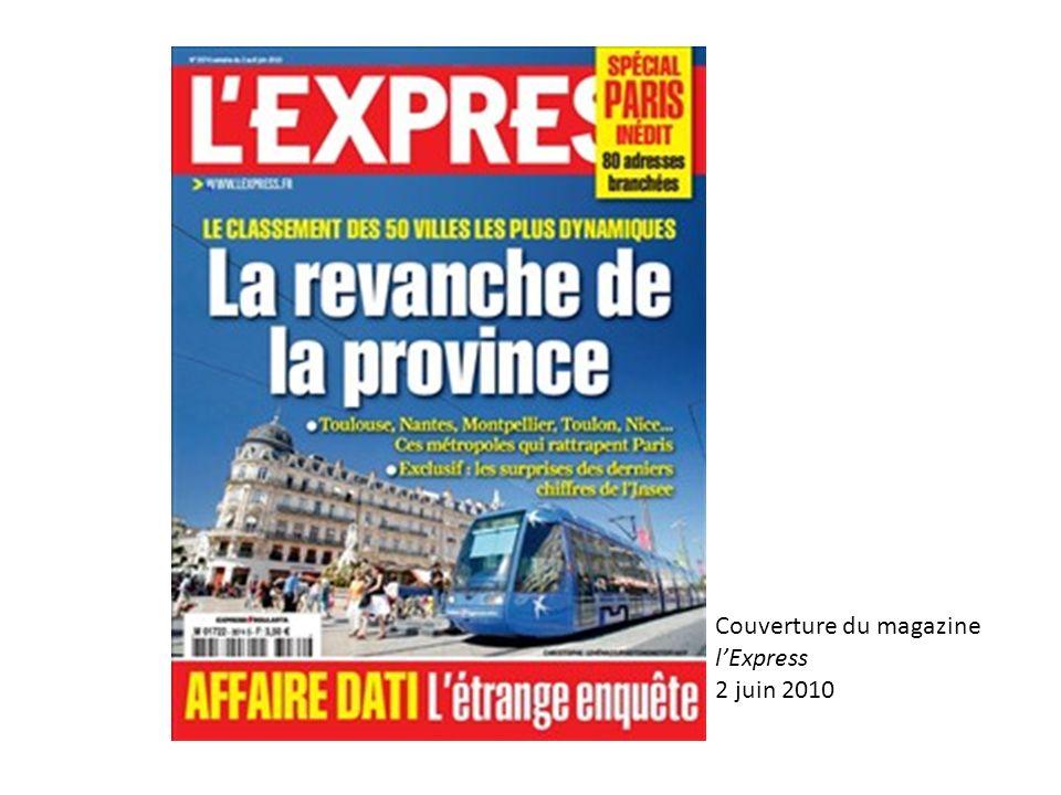 Couverture du magazine lExpress 2 juin 2010
