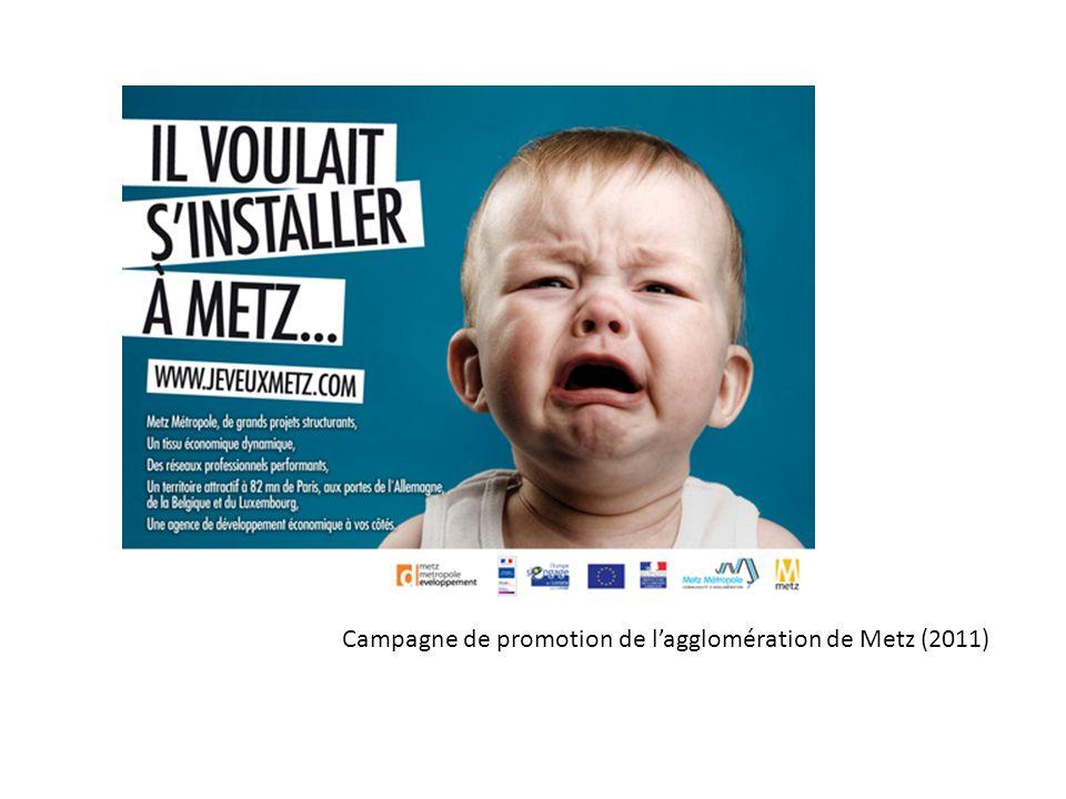 Campagne de promotion de lagglomération de Metz (2011)