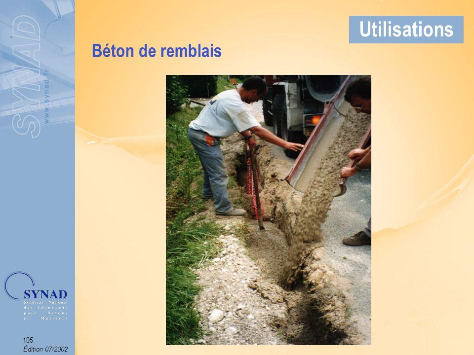 Édition 07/2002 106 Applications Béton teinté dans la masse par addition de pigments variés, naturels ou synthétiques.