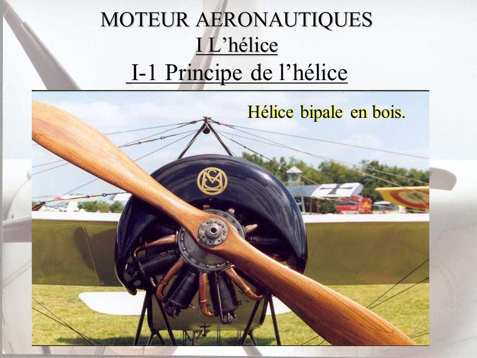 MOTEUR AERONAUTIQUES II Les moteurs à piston II-1 Principe du moteur à explosion II-2 Carburation ou injection II-3 Contrôle en vol II-4 Performances et utilisation