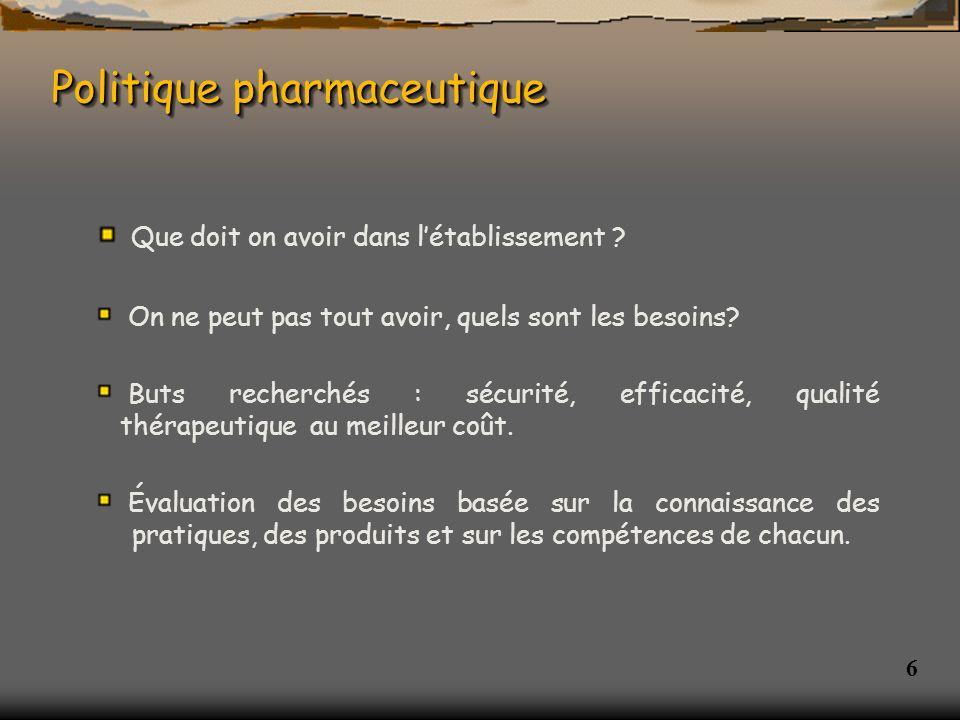 7 Base du référencement COMEDIMS : COMEDIMS : Commission du Médicament et des dispositifs médicaux art.