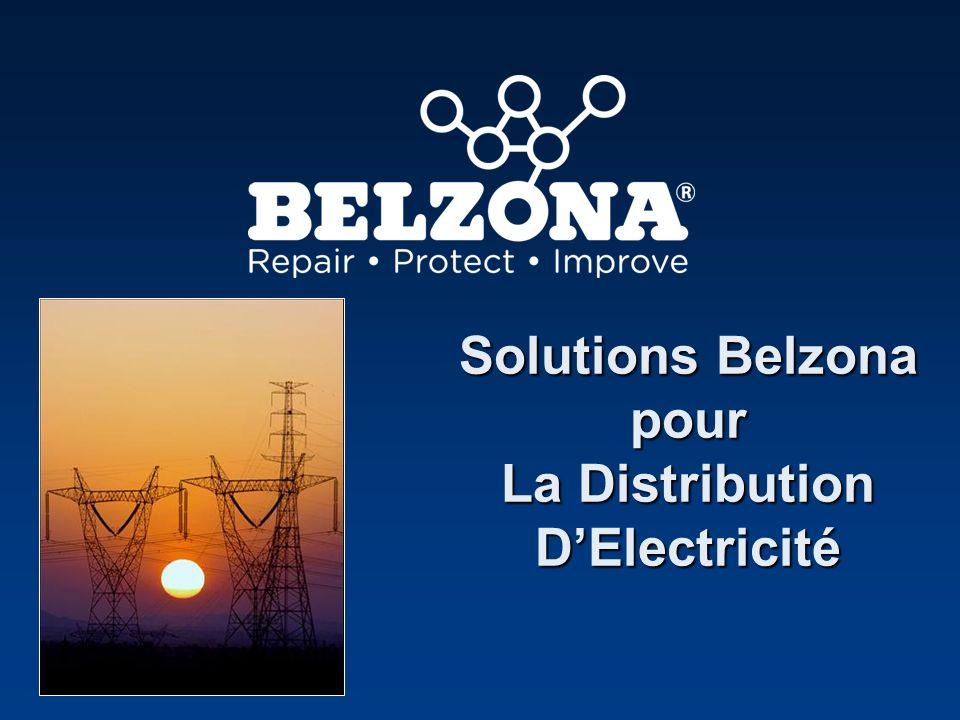 Solutions Belzona pour La Distribution DElectricité