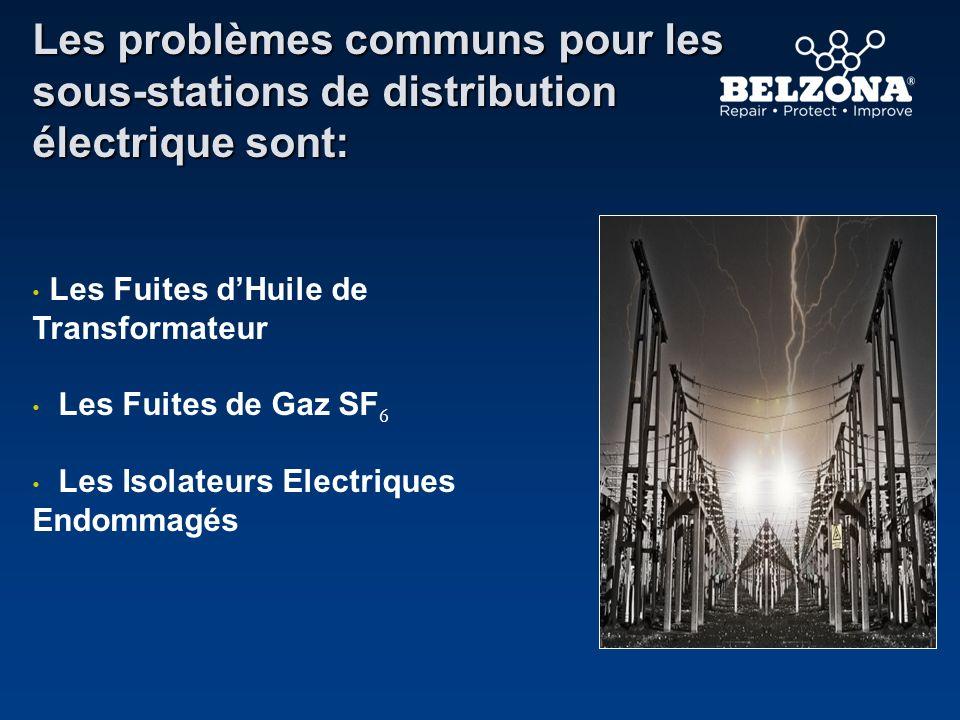 Les problèmes communs pour les sous-stations de distribution électrique sont: Les Fuites dHuile de Transformateur Les Fuites de Gaz SF 6 Les Isolateur