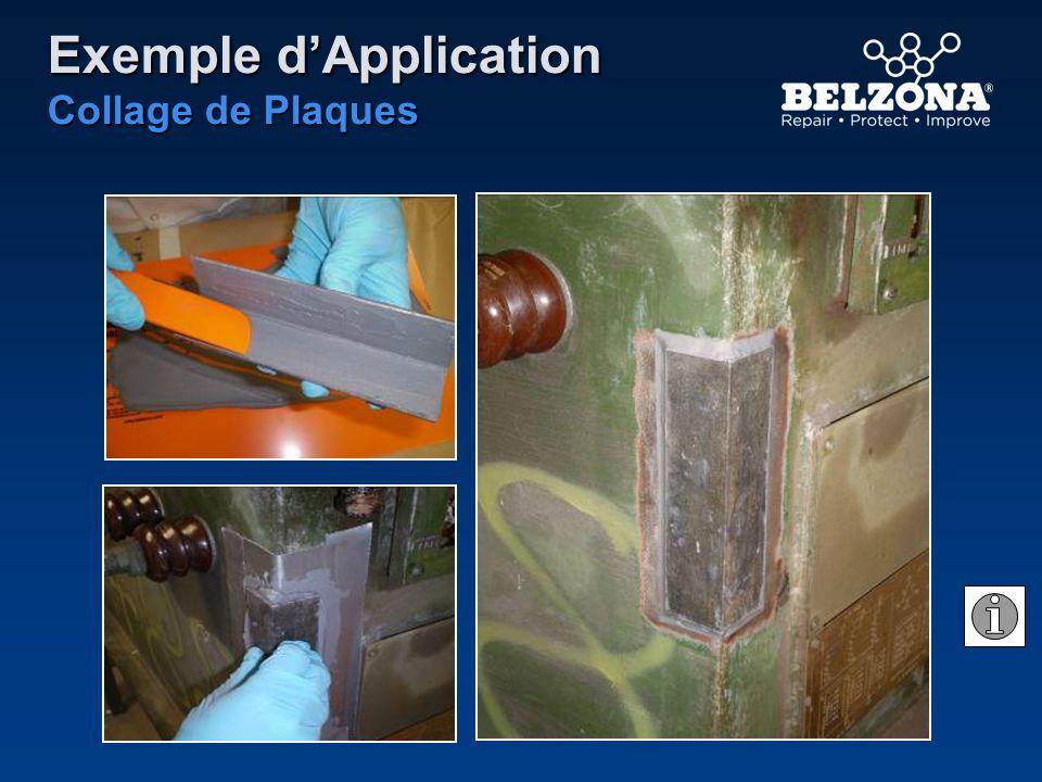 Exemple dApplication Collage de Plaques