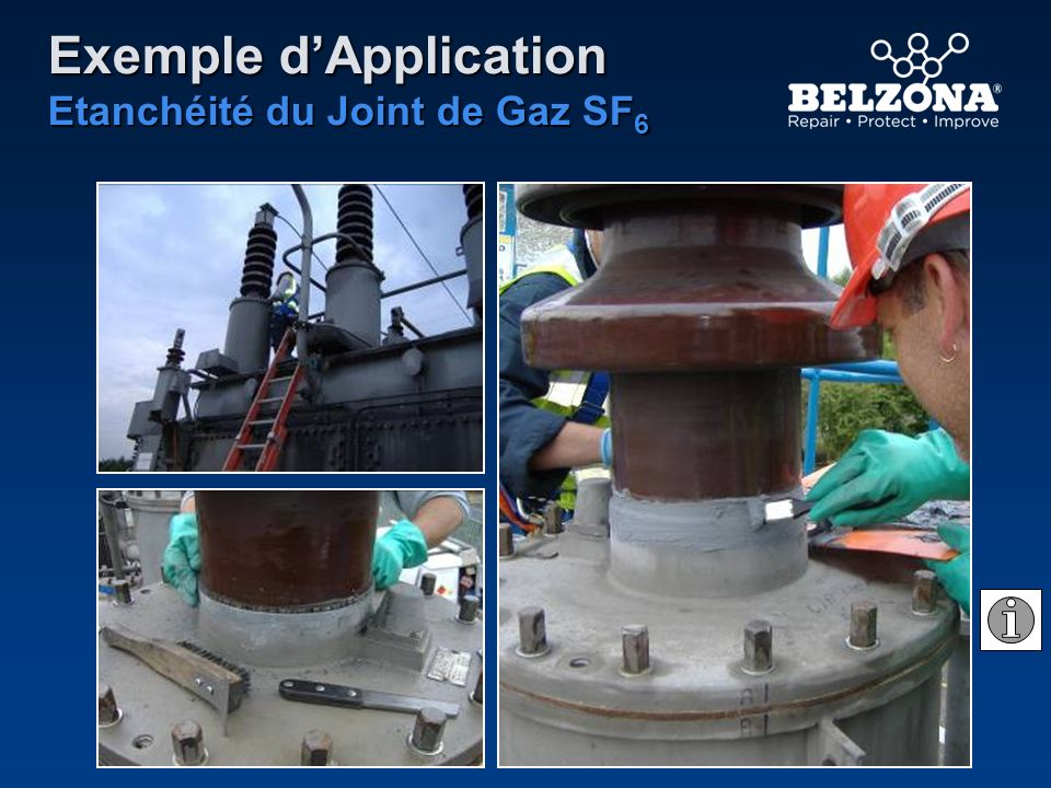 Exemple dApplication Etanchéité du Joint de Gaz SF 6