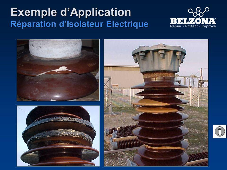 Exemple dApplication Réparation dIsolateur Electrique