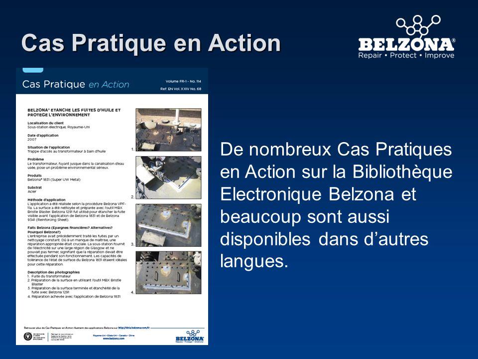 Cas Pratique en Action De nombreux Cas Pratiques en Action sur la Bibliothèque Electronique Belzona et beaucoup sont aussi disponibles dans dautres la