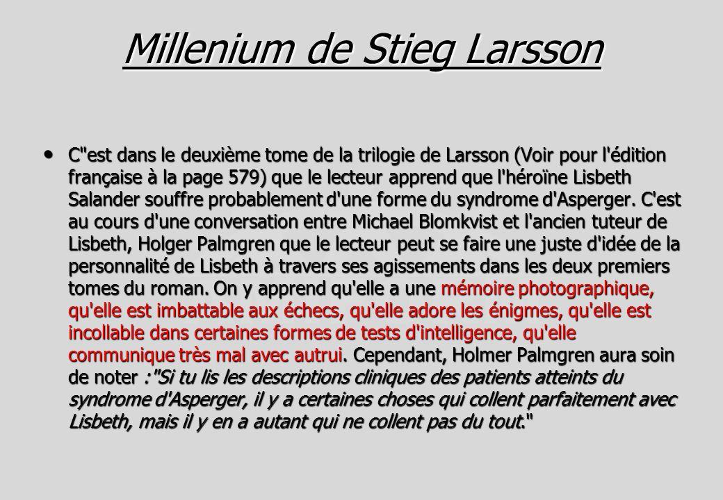 MilleniumMillenium de Stieg Larsson Stieg Larsson MilleniumStieg Larsson C