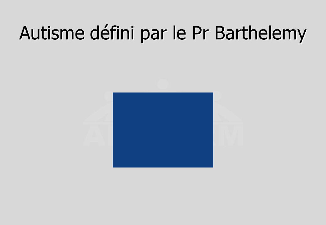 CHAT : B.5 OBSERVATIONS DIRECTES DE L ENFANT PAR LE MEDECIN 1.