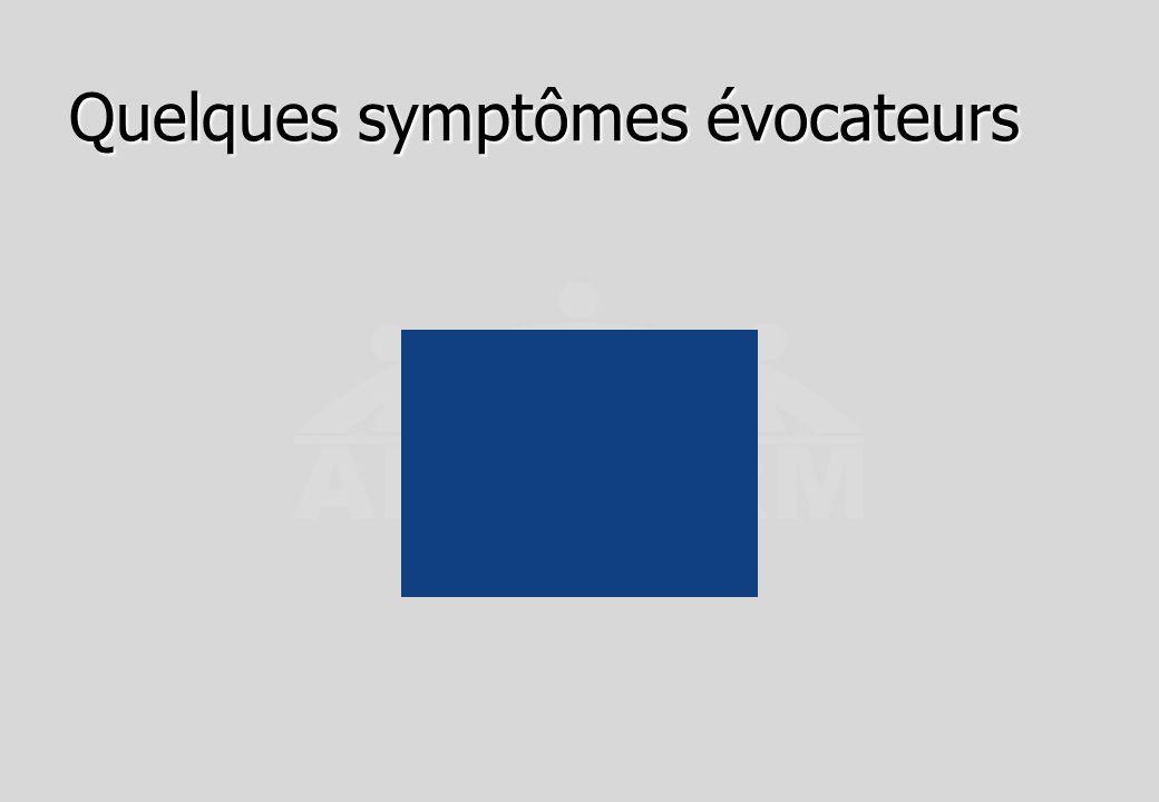 Autre présentation des symptômes