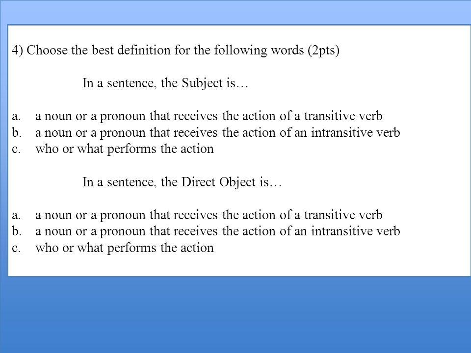 VI) QCM (Questions à Choix Multiples).