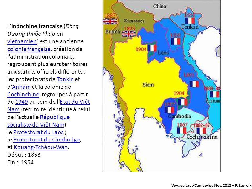 Le Cambodge, khmerkhmer Le Cambodge a des frontières communes avec la Thaïlande à l ouest et au nord-ouest, le Laos au nord-est et avec le Viêt Nam à l est et au sud-est.ThaïlandeLaosViêt Nam La capitale du royaume estcapitale Phnom PenhPhnom Penh.