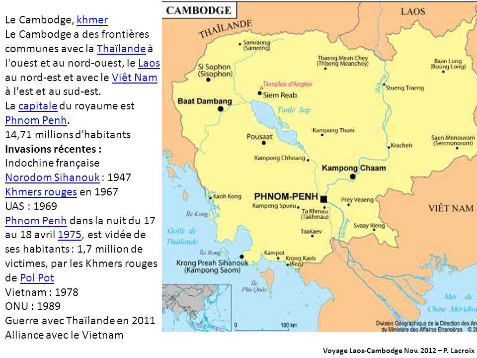 Voyage Laos-Cambodge Nov.2012 – P.