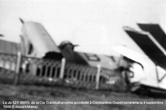 Stand des Cie Transsaharienne et Air Transport à la foire de Perpignan en 1949 (Pierre Laffargue)