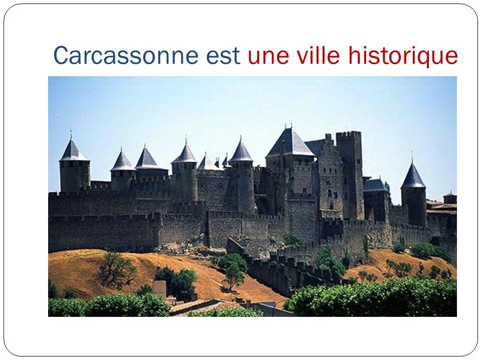 Carcassonne est une ville historique
