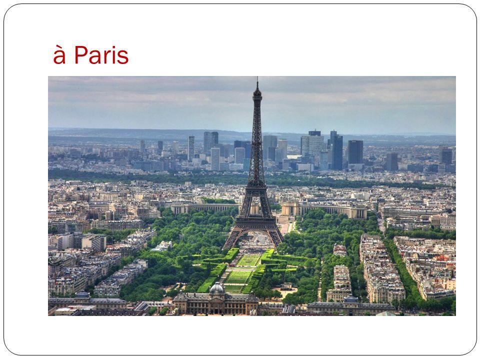 Paris est sur la Seine