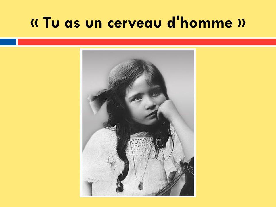Ses études 1913 – Cours Adeline Désir, lécole privée et Catholique ~1922 – Elle est devenue athée 1925-26 – Baccalauréat 1926-29 – La Sorbonne 1929 – LÉcole Normale Supérieure
