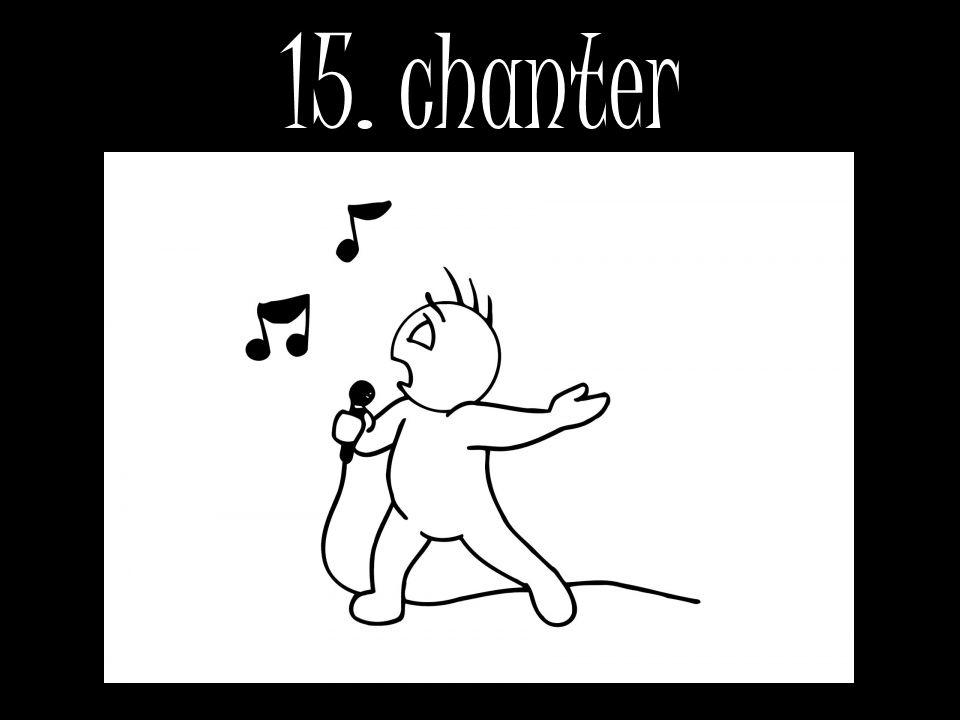 15. chanter