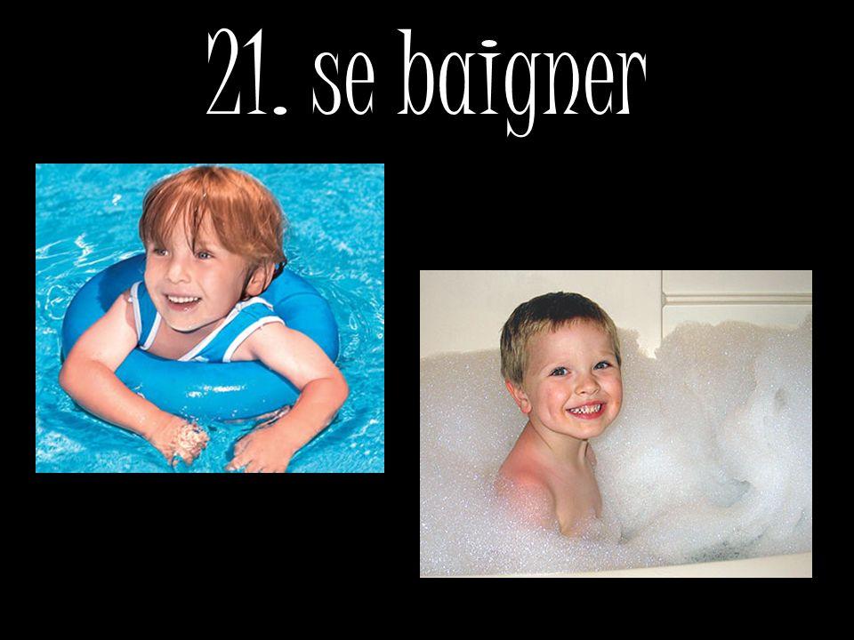 21. se baigner