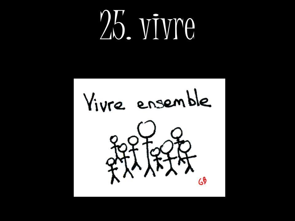 25. vivre